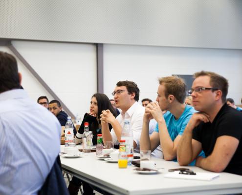 Teilnehmer des Workshops