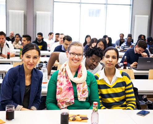 Studenten beim CCEC Workshop